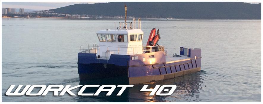 Workcat 40 katamaran
